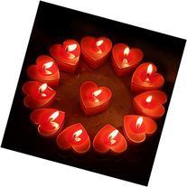 Celestte  Scented Candles, 12 Pcs Sweet Romantic Love Heart