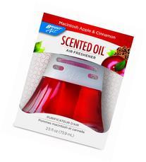 Scented Oil Air Freshener, Macintosh Apple & Cinnamon, 2.5oz