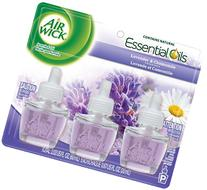 Air Wick Scented Oil Lavender & Chamomile 3 Refills 0.67 Oz Each Refill