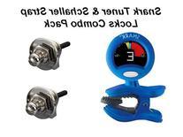 SNARK & SCHALLER Deluxe Tuner and Strap Lock Combo Pack