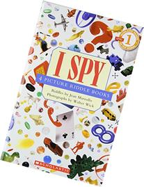 Scholastic Reader Level 1: I SPY Collection