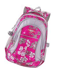 Coofit School Backpack for Girls Flowers Pattern Backpacks