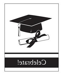 Creative Converting 25 Count School Color Graduation