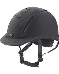 Ovation Girls' Schooler Deluxe Riding Helmet Black S/M US