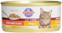 Hill'S Science Diet Adult Light Cat Food, Liver & Chicken