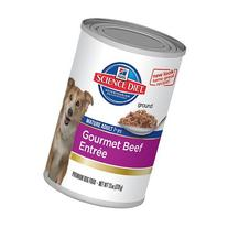 Hill's Science Diet Adult 7+ Beef & Barley Entrée Canned