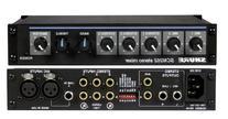 Shure SCM268 4-Channel Microphone Mixer, 6 Transformers,