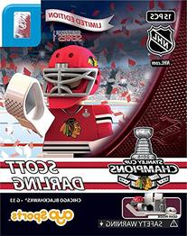 Scott Darling OYO 2015 Stanley Cup Champions Chicago