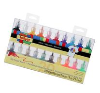 I Love To Create Scribbles 3D Fabric Paint 1oz 20/Pkg