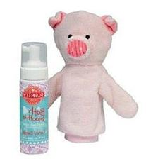 Scentsy Scrubby Penny the Pig Mit & Candy Dandy Scent Bath