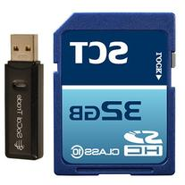 32GB SD Class 10 SCT Ultimate Extreme Speed SDHC Flash
