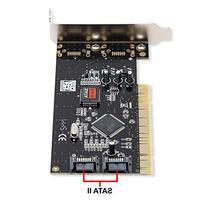 SYBA SD-LP-SIL2IR Low Profile PCI SATA 2-Port Raid Card with