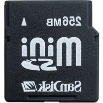 SanDisk 256 MB Mini SD Memory Card