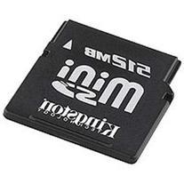 Kingston 512MB MiniSD Mini Secure Digital Card