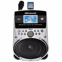 Karaoke USA SD516 Portable Karaoke MP3 Lyric Player with 3.2
