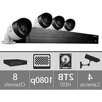 SDH-C74040 - Samsung 8 Channel 1080p HD 2TB Security System