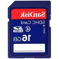 SanDisk 16GB SDHC Card Class 4 Secure Digital High Capacity