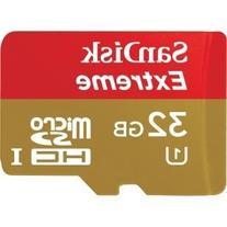 SanDisk Extreme Plus 32 GB Class 10 UHS-I U1/U3 microSDHC