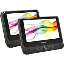 Sylvania SDVD9805/SDVD9805-C  9-Inch Twin Dual Screen DVD