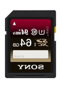 Sony 64GB SDXC UHS-1 Class 10 Memory Card