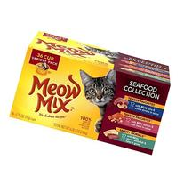 Meow Mix Seafood Collection Variety Pack 36-Cup