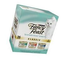 Fancy Feast Seafood Feast Variety 3 oz. cans