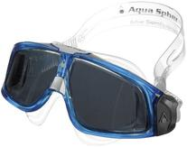 Aqua Lung America Seal Mask with Clear Lens, Blue