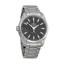 Omega Seamaster Aqua Terra Grey Dial Stainless Steel Mens
