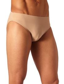 Capezio Men's Full-seat Dance Brief, Nude, X-Large