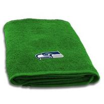 Seattle Seahawks NFL Applique Bath Towel