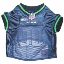 Pets First SSJ-XS Seattle Seahawks NFL Dog Jersey - Extra