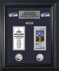 Seattle Seahawks Super Bowl 48 Champions Ticket And Game