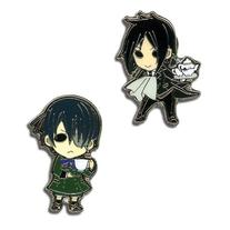 Sebastian and Ciel Black Butler Pins GE Animation