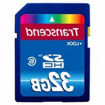 Transcend SECURE DIGITAL, 32GB, SDHC, CLS 6