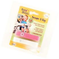 2ct Secure-A-Toy - Color: Pink - White