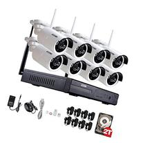 ZOSI Security 8 Channel 960P/1080P NVR HD IP Security Camera