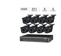 Q-See 8 Channel 960H Security System with 1TB HDD and 8