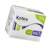 KOTEX SECURITY Tampons Super Absorbency Economy Pack, 36 CT