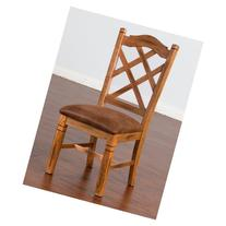 Sunny Designs Sedona Double Cross Back Side Chair