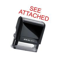 See Attached Rubber Stamp for Office Use Self-inking