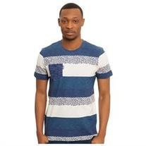 Staple Mens The Seed Stripe Pocket Graphic T-Shirt