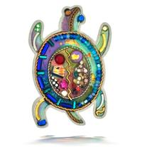 Seeka Sea Turtle Nature Pin from The Artazia Collection