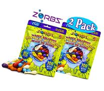 ZORBZ Self-Sealing Water Balloons  with Filler Nozzle Bundle