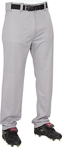 Rawlings  Men's Semi-Relaxed Pants, Small, Blue/Grey