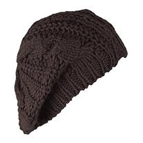SunHouse New Winter fashion Women Beret Braided Baggy Beanie