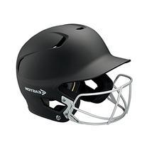 Easton Senior Z5 Grip Batters Helmet with BBSB Mask, Black