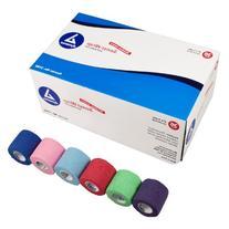 Dynarex Sensi Wrap, Rainbow Color, 2 Inches X 5 Yards, 36