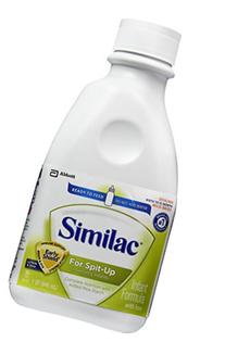 Similac Sensitive For Spit Up Infant Formula, Ready to Feed