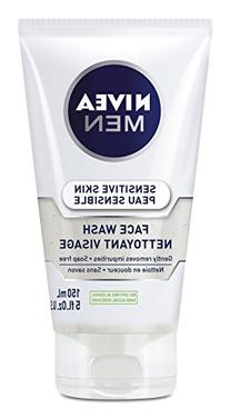 Nivea for Men Sensitive Face Wash for Men 5 oz