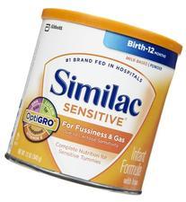 Similac Sensitive Baby Formula - Powder - 12.6 oz - 6 pk